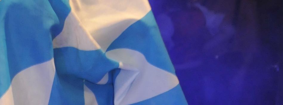 Kolping Hollage - Oktoberfest - blau weiße Fahnen